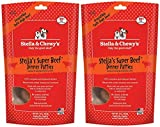Stella & Chewy's Freeze Dried Dog Food for Adult Dogs, Beef Dinner, 2 packs 15 Ounce Bags