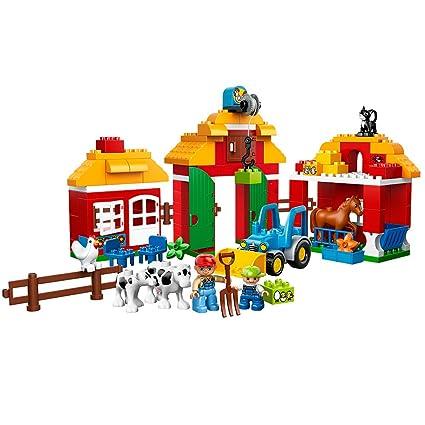 9dd4587638100 Amazon.com: LEGO Duplo Town Big Farm 10525: Toys & Games