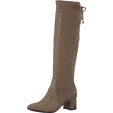 Tamaris Damen Stiefel Beige: : Schuhe & Handtaschen
