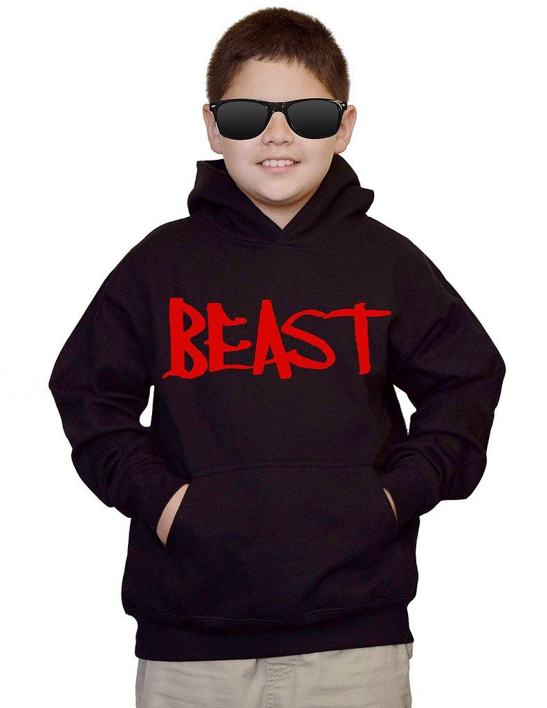 Youth Red Beast Black kids Sweatshirt Hoodie Small