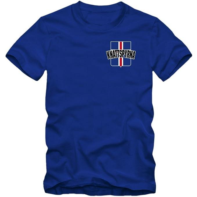 Shirt Happenz Islandia Campeonato De Europa 2016#9 Camiseta | Hombre | Fútbol | Island