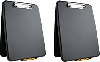 product image for Dexas 1517-912PK Slimcase Storage Clipboard, Black: Set of Two, 2 Piece