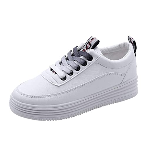 Altsommer Petites Chaussures Blanches, Baskets Basses Mixte