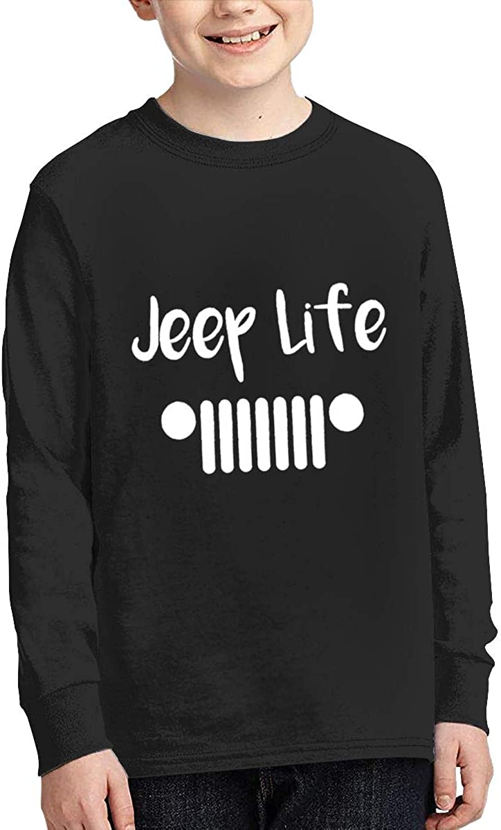 Jeep Life 2 Long Sleeve T-Shirt for Girls