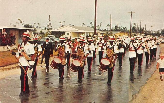 Freeport Bahamas Royal Bahamas Police Band Parade Vintage