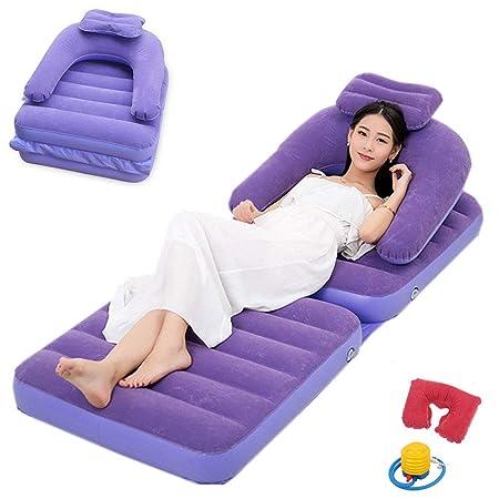 EFGS Impermeable Plegable Sofa Hinchable, Multifunción ...