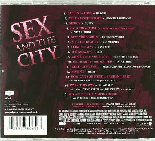 Songs played in sex and the city