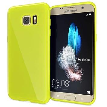 NALIA Funda Compatible con Samsung Galaxy S7 Edge, Ultra-Fina Gel Protectora Movil Carcasa Silicona Telefono Bumper Ligera Goma Cubierta Jelly ...