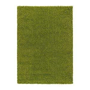 Great IKEA HAMPEN   Rug, High Pile, Bright Green   133x195 Cm