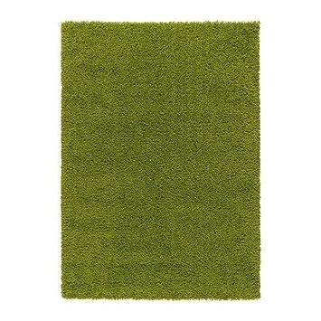 Ikea Hampen Teppich Hochflor Bright Grün 133 X 195 Cm