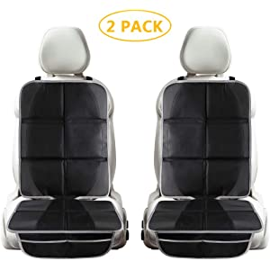 Amazon.com: Xboun Car Seat Protector 2 Pack for Child Car ...