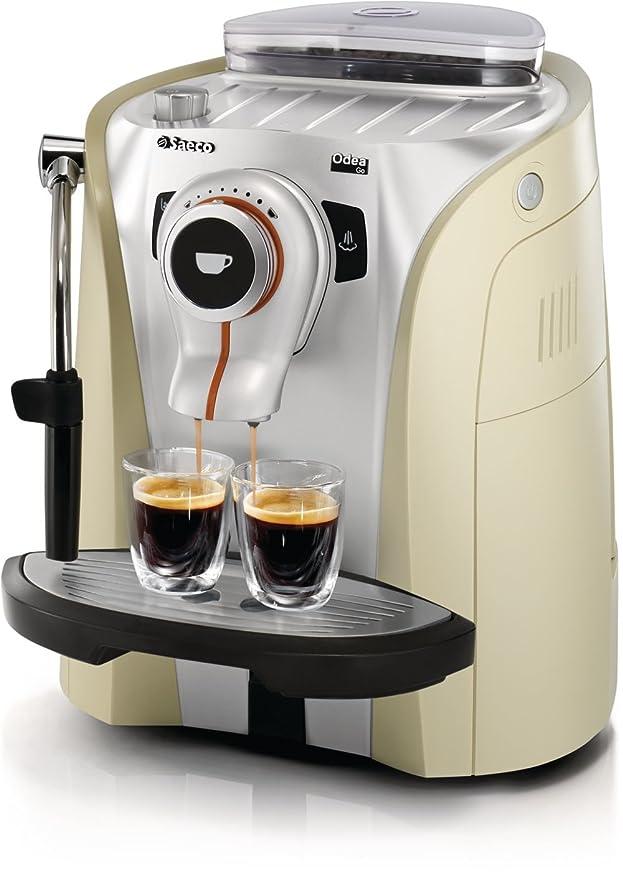 Saeco RI9752/31 Odea - Cafetera de espresso automática, color dorado