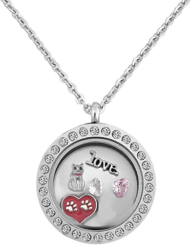Love Hello Kitty Floating Charm For Living Floating Charm Lockets