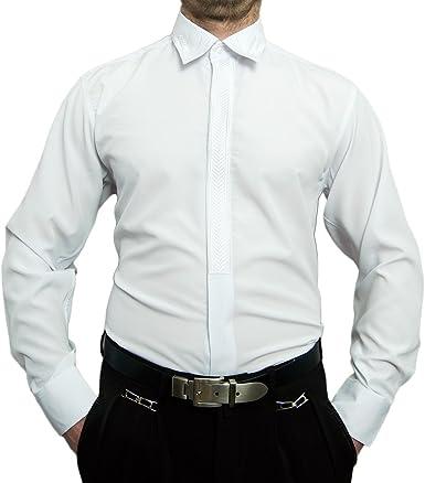 Designer Hombre Camisa Plancha con Libre Stick New Kent Kent Cuello Camisa Cuello Muchos Colores Manga Larga