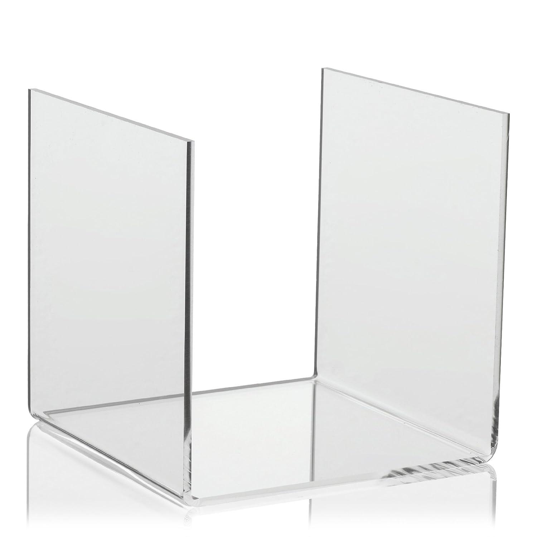 10/x 10/cm U di supporto in plexiglas/® come APPOGGIO//supporto per vasi//Figure in vetrina//Finestra di visualizzazione e rilascio