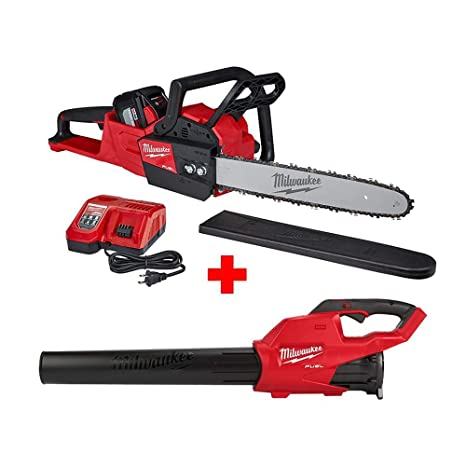 Amazon.com: Milwaukee M18 FUEL 16 pulgadas Kit de motosierra ...
