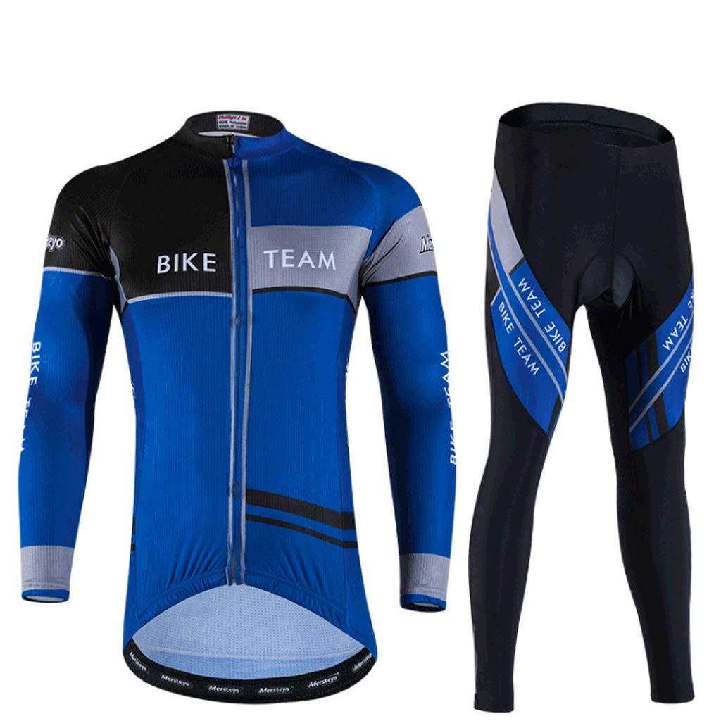 Xiaoping Radtrikot Radsportanzug Herrenradbekleidung Langarmhosen Radsport