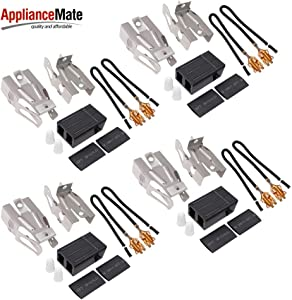 Appliancemate 330031 Range Burner Surface Element Receptacle Compatible with Whirlpool Kenmore Sears and Roper Refrigerator Oven 814399 5303935058 (4 Pack)