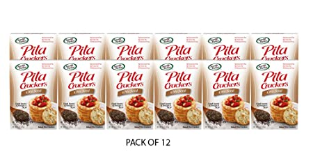 Sensible Portions Pita Crackers, Chia Seed, 5 oz. (Pack of ...