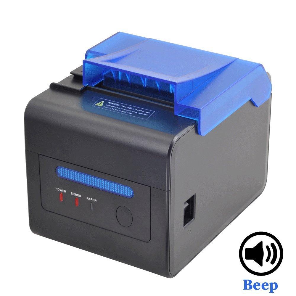 [Actualizació n4.0] 80 mm Impresora Té rmica Bluetooth Directa 230 mm/Sec con USB Ethernet para Windows PC ESC/POS / Receipt Ticket Impresora de Profesional MUNBYN