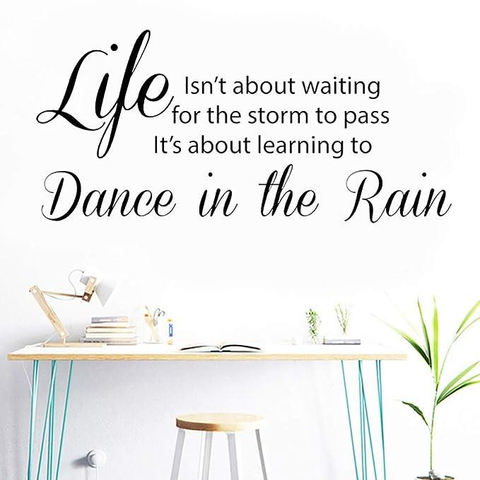 TYLPK La vida no se trata de esperar a que la tormenta pase a ...