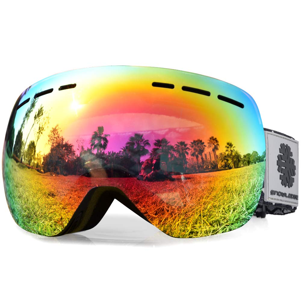 2944110211ed Snowledge Ski Goggles - Frameless Skiing Goggles