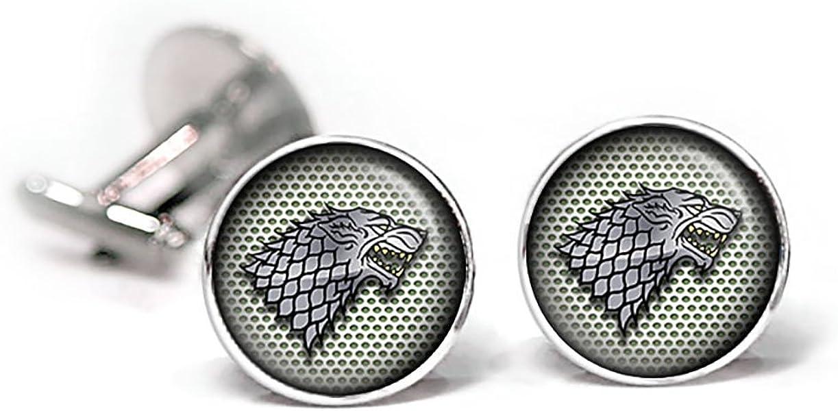 Juego de gemelos y pinza para corbata, diseño de Casa Stark de ...