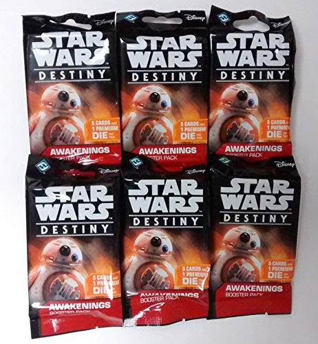 Star Wars Destiny TCG: Awakenings Boosters - 6-Pack -