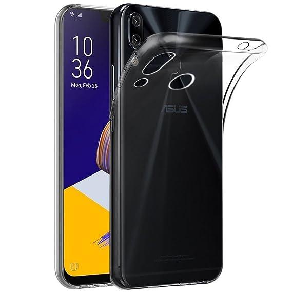 new style 645aa 02b40 ZenFone 5 ZE620KL Case, Asus Zenfone 5z ZS620KL Case, ZS620KL Case,  ZenFone5/5z Case, Skmy Soft TPU Case Crystal Transparent Slim Anti Slip  Case Back ...