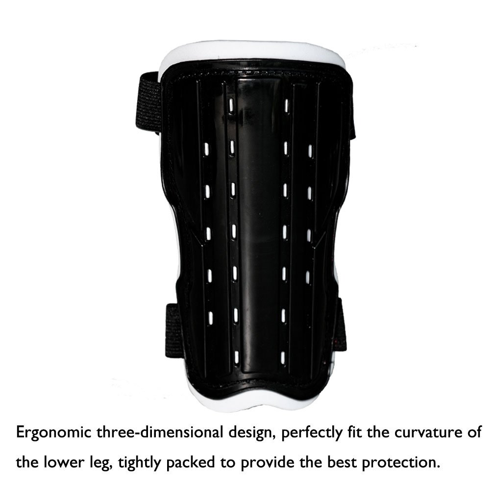 Girls Children Lightweight Soccer Leg Calf Protective Gear 2 Pair Perforated Breathable Soccer Shin Pads Board for 6-12 Years Old Boys Teenagers PcleasureCD Youth Soccer Shin Guards