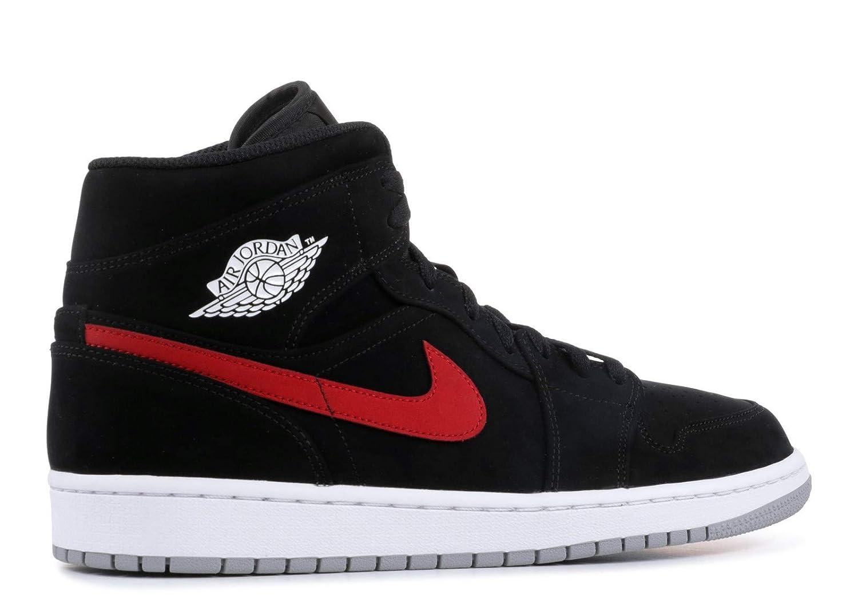 c524d27ecaa01c NIKE Jordan Air Jordan 1 Mid Mens 554724-065  Amazon.co.uk  Shoes   Bags