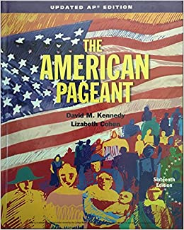 The American Pageant Ebook