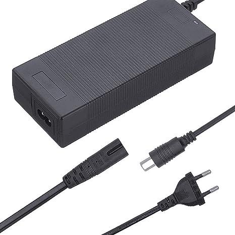 SHM-F Cargador de batería de 42V 1.5A, Scooter Cargador Adaptador ...