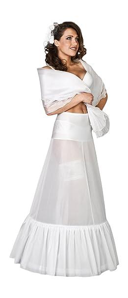 OssaFashion Enagua elegante y comodo para el vestido de novia