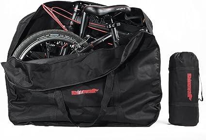 Bolsa Transporte Bicicleta Plegable, Selighting Bolsa de Almacenamiento de Bici Bolsa para el manillar Bolso Plegable para el Envío de Viajes, 20 Pulgadas: Amazon.es: Deportes y aire libre