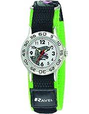 Ravel Children's Dinosaur Watch with Easy Fasten Action Strap