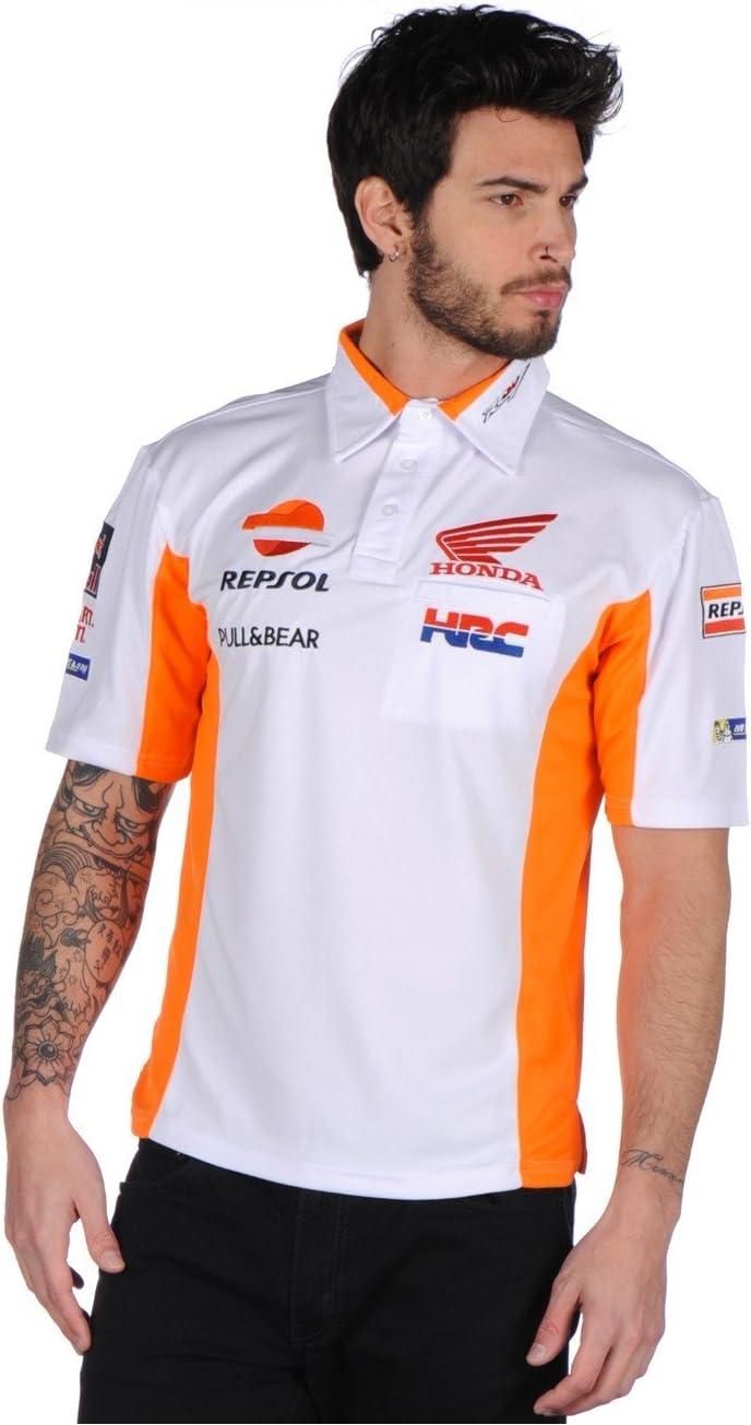 Repsol Honda Team Hrc 2017 camisa de Polo para hombre de Marc ...