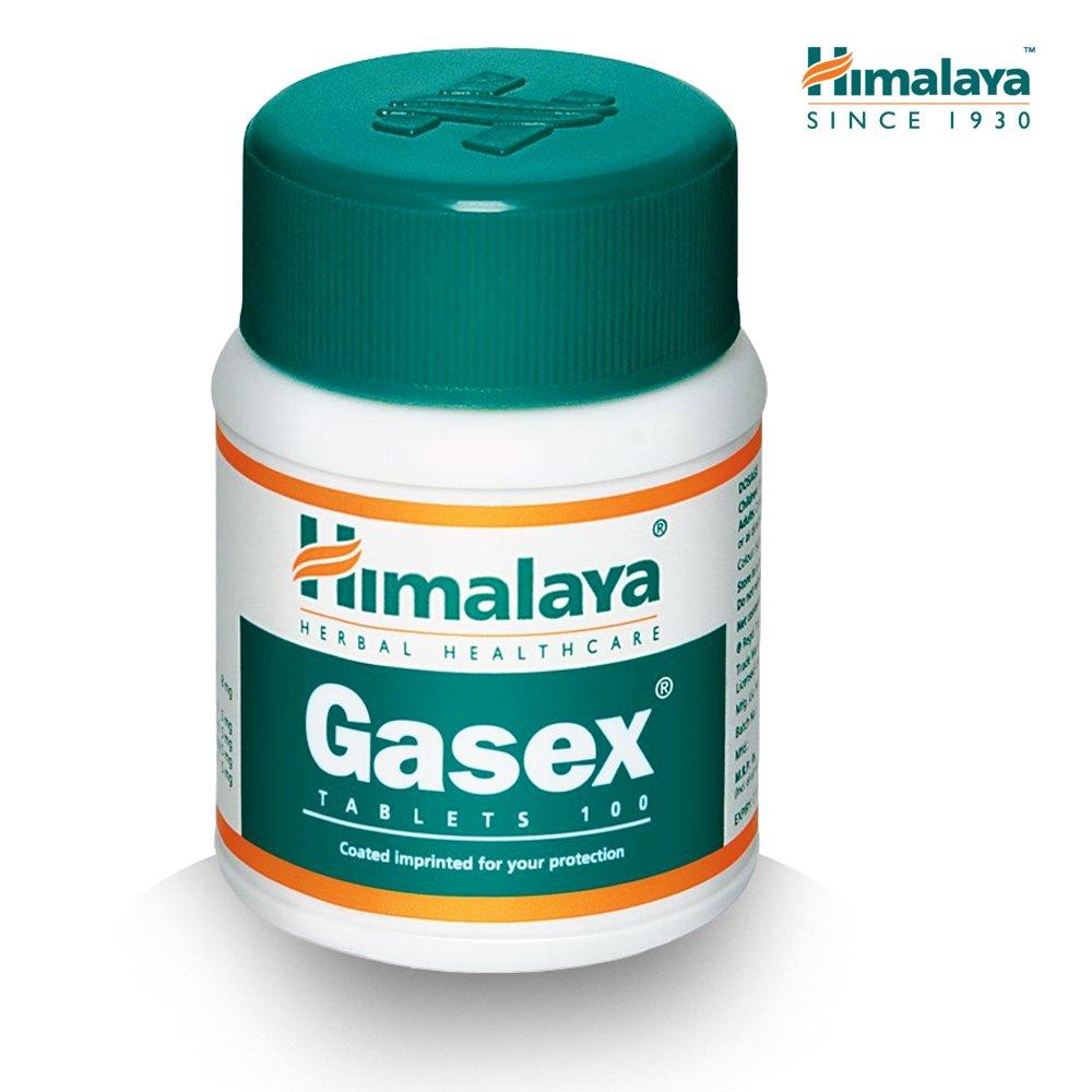 Gasex, Soporte Digestivo Natural | Antiflatulento, alivia el malestar estomacal y la hinchazón | 100 tabletas sin gluten de Himalaya (1-Pack): Amazon.es: ...