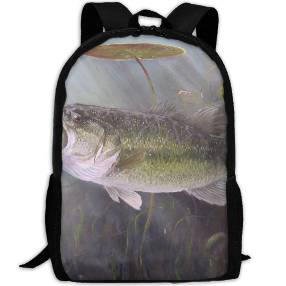 Fish Luxury Print Men And Women's Travel Knapsack new