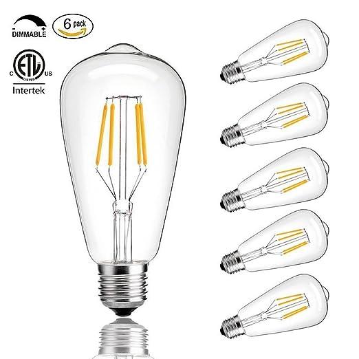 CMYK® 4W E27 Bombilla LED, incandescente equivalente 40W, 400 lúmenes, blanco cálido
