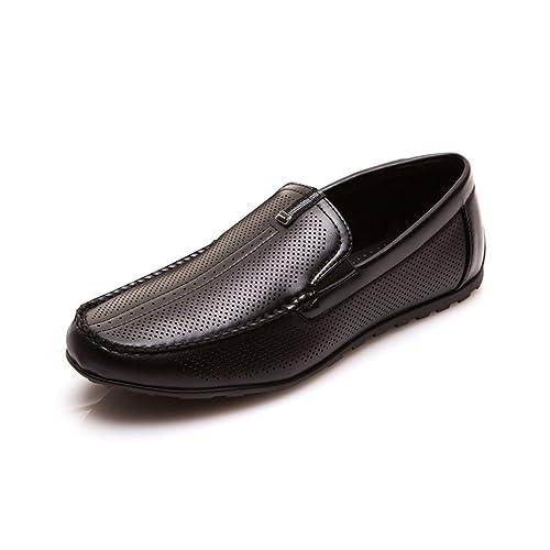 Hombres Casuales Mocasines Moda Usar cómodos Zapatos Agujeros Caminar Zapatos Calzado de Negocios Pisos: Amazon.es: Zapatos y complementos