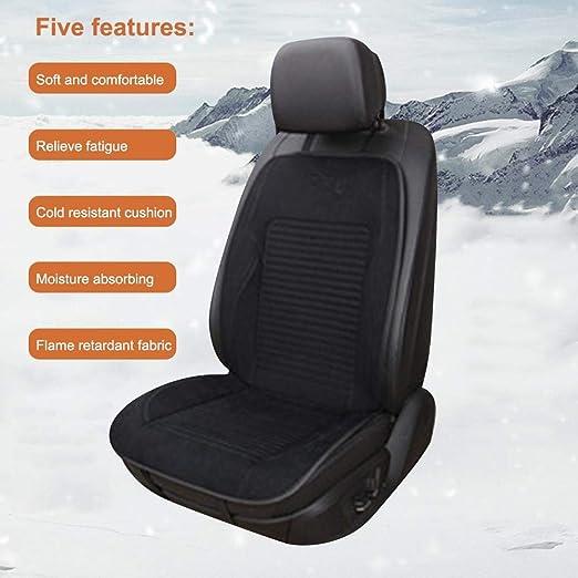 AIMERKUP Cojín de asiento calentado de 12V con controlador ...
