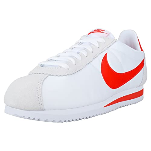 check out 01967 09991 Nike Classic Cortez Mens Trainers White Red - 10 UK