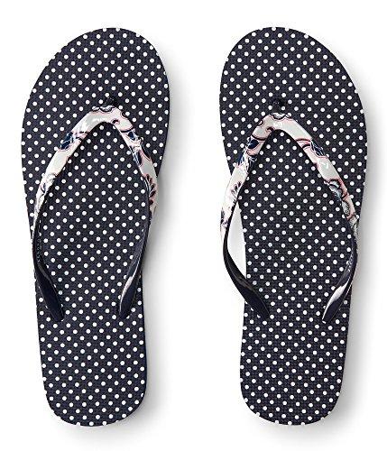 Aeropostale Womens Polka Dot Flip Flop