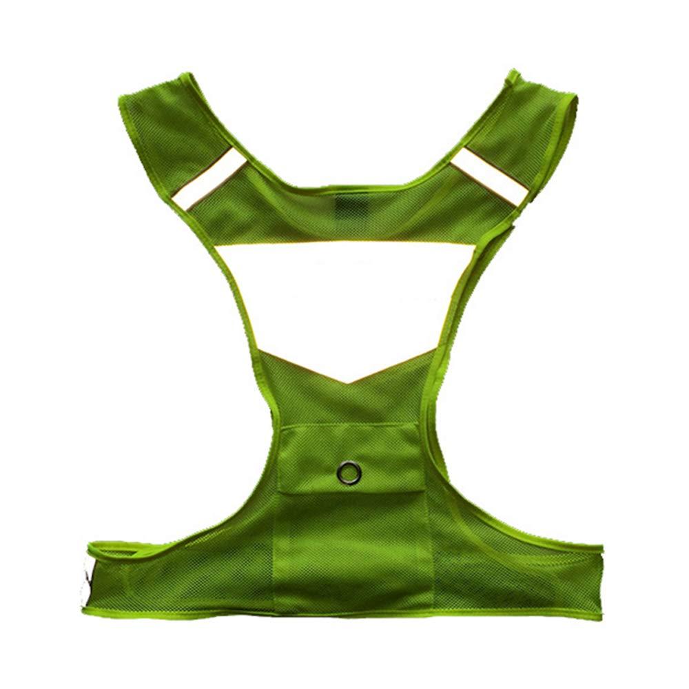 Belingeya Multifunktional Kinder reflektierende Weste Laufbekleidung | Sie können die Motorradweste mit der besten Wahl wählen Verstellbare Taille | Sicherheitsweste einstellbar Atmungsaktiv