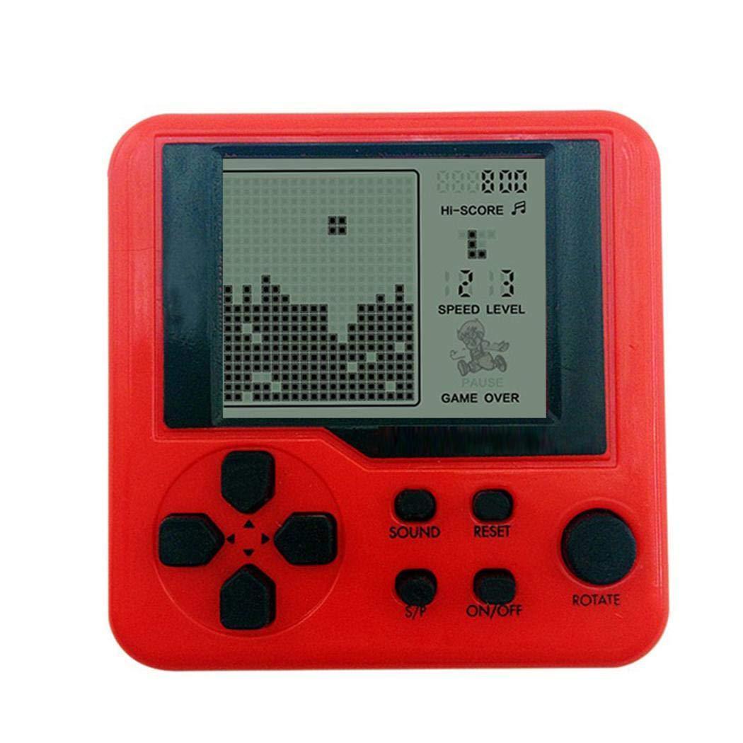 marris New Children Tetris Handheld Game Console Portable Mini Game Handheld Toys Handheld Games