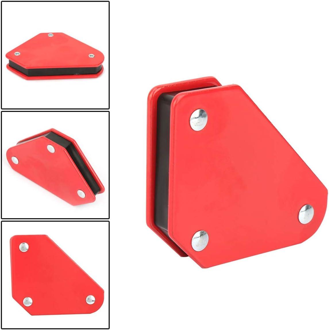Rehomy Lote de 4 piezas de 9 libras de /ángulo magn/ético para soldar con forma de flechas de esquina