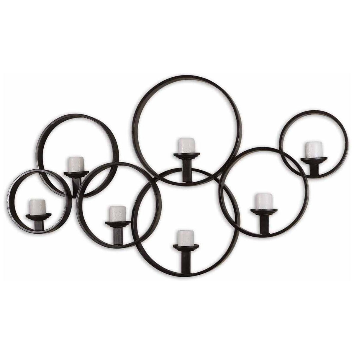 Amazon.com: Uttermost 07617 Kadoka Decorative Wall Candle Holder ...