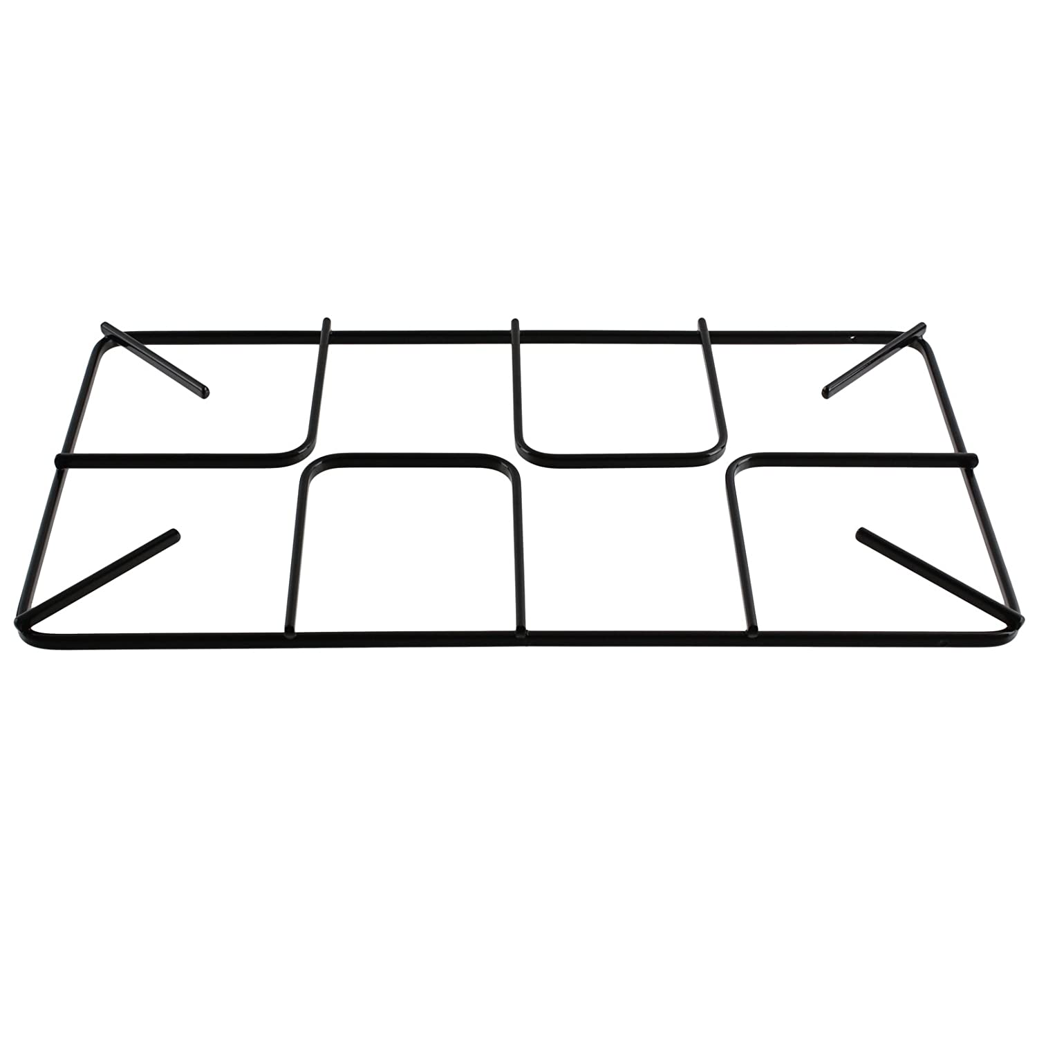 SPARES2GO Pan Support Grid for Moffat Oven Cooker Flat Gas Hob (450mm x 245mm, Large)