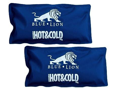 Blue lion Paquetes fríos y calientes, 2 unidades, 13 x 25 cm